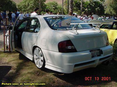 Тюнинг Nissan / Тюнинг Ниссан фото tuning_nissan_04.jpg - 640x480