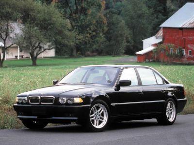 Обои для рабочего стола с BMW - БМВ bmw_7series_024.jpg - 1024x768