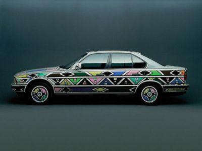 Обои для рабочего стола с BMW - БМВ bmw_artcars_031.jpg - 1024x768