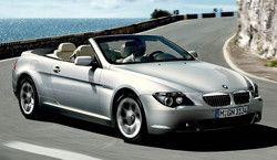 BMW 630i Convertible (E64) фото