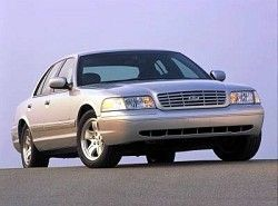 Ford Crown Victoria 4.6 (223hp)  (P7) фото