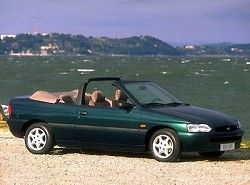 Ford Escort Cabrio 1.8 16V XR3i (116hp)  (ALL) фото