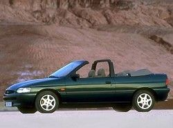 Ford Escort Cabrio 1.8 16V XR3i (130hp)  (ALL) фото