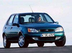 Ford Fiesta 1.3i (5dr) (60hp)(J) фото