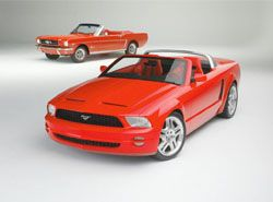 Mustang GT Convertible Ford фото