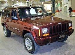 Cherokee 4.0 Limited(XJ) Jeep фото