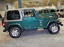WranglerII 4.0 (184hp) 4WD(TJ) Jeep фото