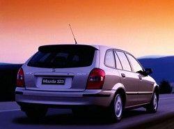 Mazda 323 F 2.0 TD фото