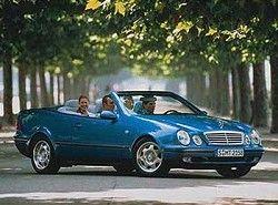 CLK 230 Kompressor Cabrio (197hp)(C208) Mercedes-Benz фото