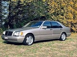 Mercedes-Benz S 420 (279hp)  (W140)  фото