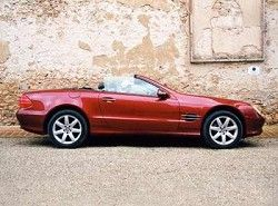 SL 55 AMG Roadster  (R230) Mercedes-Benz фото