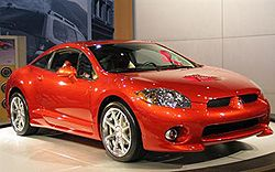 Mitsubishi Eclipse Coupe GT фото