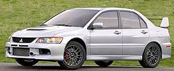 Mitsubishi Lancer Evolution IX фото