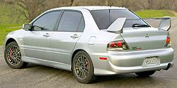 Lancer Evolution IX Mitsubishi фото