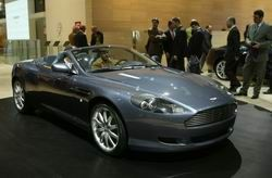 Aston Martin DB9 Volante фото