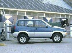 Nissan Terrano II 2.4 4WD (118hp) (3dr)(R20) фото