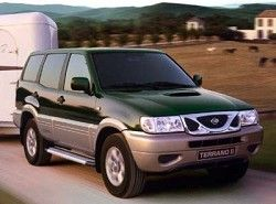Terrano II 2.4 4WD (118hp) (5dr)(R21) Nissan фото