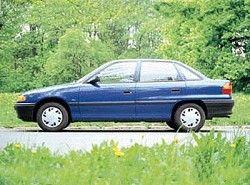 Opel Astra F 1.6i 16V (101hp) Sedan(T92) фото