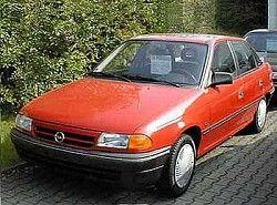 Astra F 1.6i 16V (101hp) Sedan(T92) Opel фото