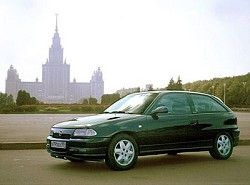 Opel Astra F 1.8 (3dr) Hatchbak(T92) фото