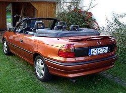 Astra F 1.8i 16V Cabrio(T92) Opel фото
