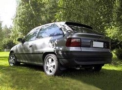 Opel Astra F 2.0 16V (3dr) Hatchbak(T92) фото