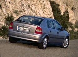 Astra G 1.8 16V (5dr) (116hp)  (T98)  Opel фото