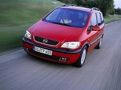 Opel Zafira 1.6 16V фото