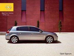 Opel Signum 2.2 фото