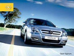 Signum 2.0 Turbo Opel фото