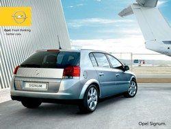 Signum 2.0 DTI Opel фото