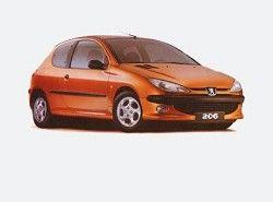206 XR 1.6 presance (3dr) Peugeot фото