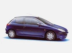 206 XR 1.9 presance (3dr) Peugeot фото