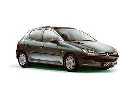 Peugeot 206 XR 2.0 presance (5dr) фото