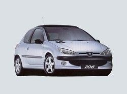 Peugeot 206 XS 2.0 16V (3dr) фото