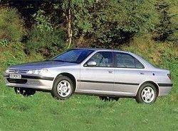 Peugeot 406 Sedan 1.9 TD(8RFV) фото