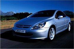 307 CC Peugeot фото