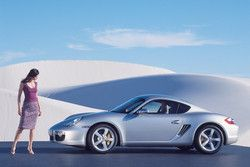 Porsche Cayman S фото
