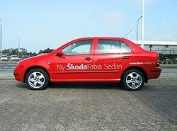Skoda Fabia 1.4 16V (75hp) Sedan(6Y3) фото