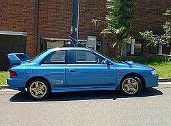 Subaru Impreza 1.6 4WD Coupe (90hp)(GFC) фото
