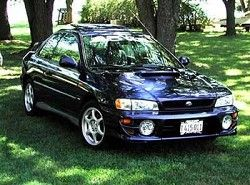 Subaru Impreza 2.0 Turbo 4WD Coupe (280hp)  (GFC) фото
