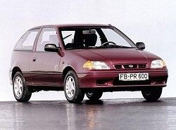 Subaru Justy 1.3 (3dr) (85hp) фото