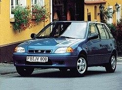 Subaru Justy 1.3 (5dr) (85hp) фото