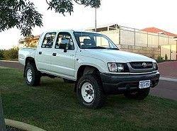 Toyota Hilux 2.4 (105hp) (4dr) фото