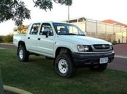 Hilux 2.4 D 4WD (4dr) Toyota фото