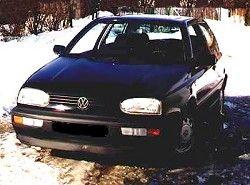 Volkswagen Golf III 1.6 (5dr) (75hp)(1HX) фото