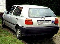 Golf III 1.6 (5dr) (75hp)(1HX) Volkswagen фото