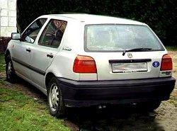 Volkswagen Golf III 1.8 (5dr) (90hp)(1HX) фото