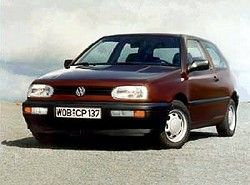 Volkswagen Golf III 1.9 SDi (3dr)(1HX) фото