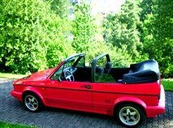 Volkswagen Golf III Cabrio 2.0(1E) фото